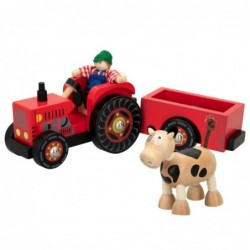 WOOMAX-TRACTOR MADERA 33CM +3A